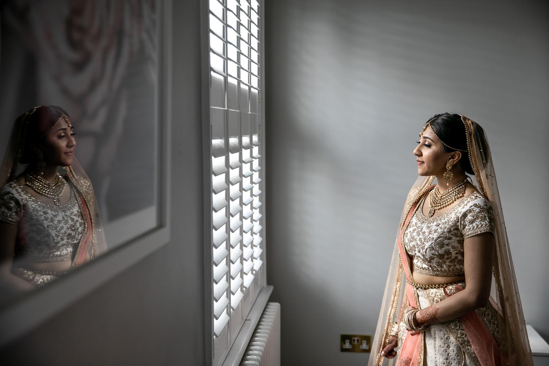 Hindu bride portrait