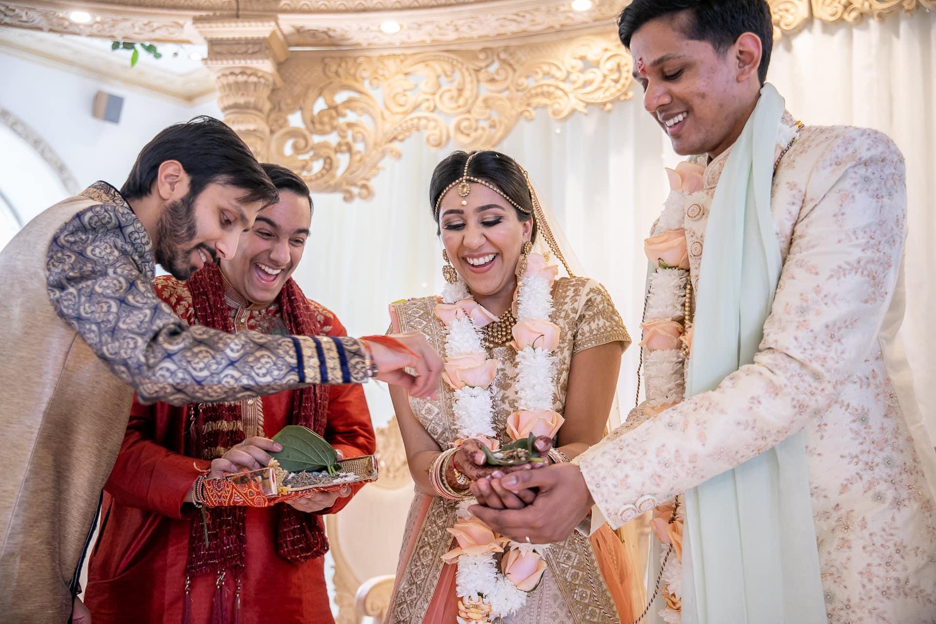Phera ceremony during Indian wedding