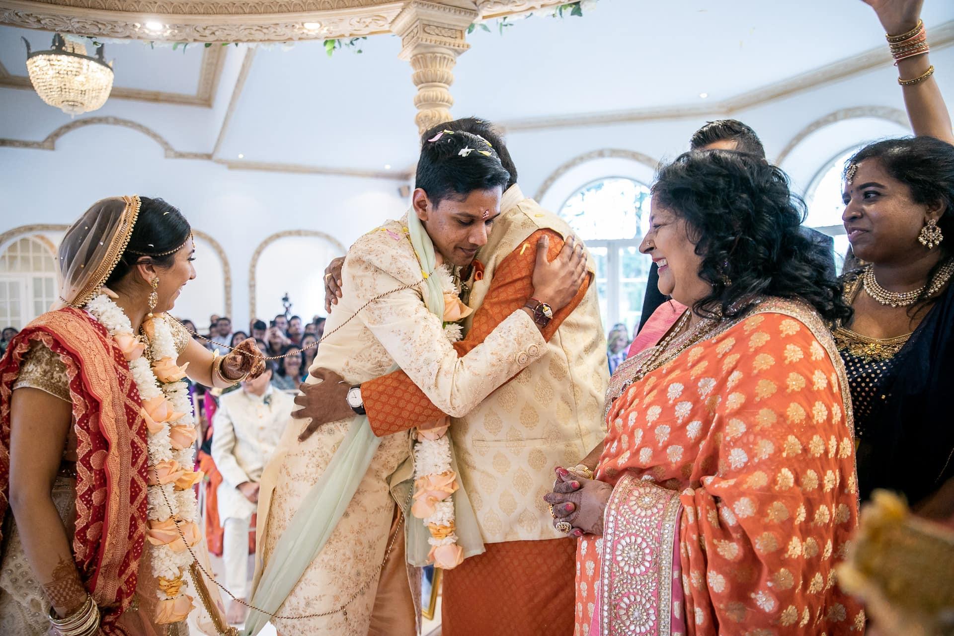 Phera ceremony during Asian wedding