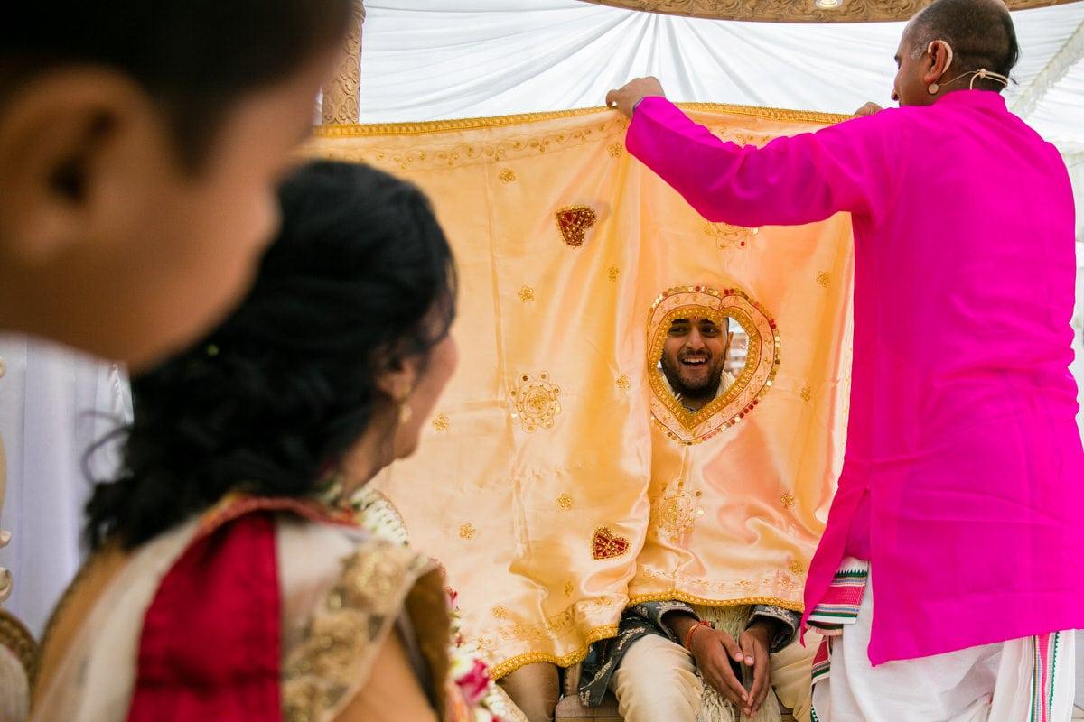 Gujarati Hindu Wedding ceremony being conducted by Arjun Pandey