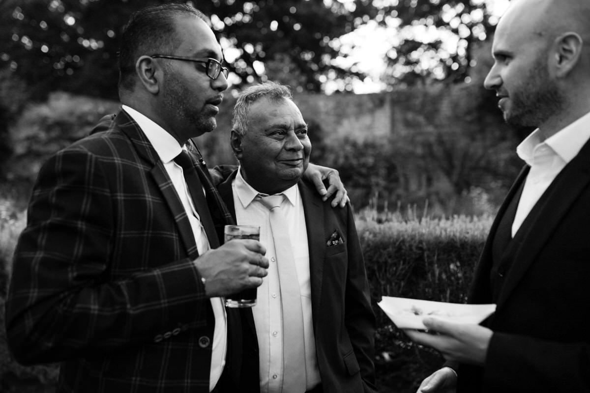 Wedding reception party at Northbrook Park