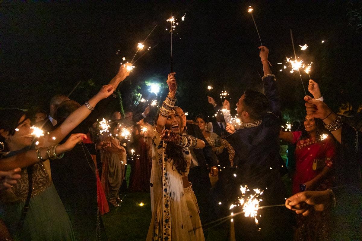Bhavisha and Neil's wedding celebrations at Northbrook Park