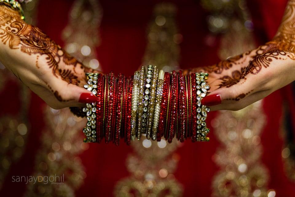 Hindu Bride's bangles