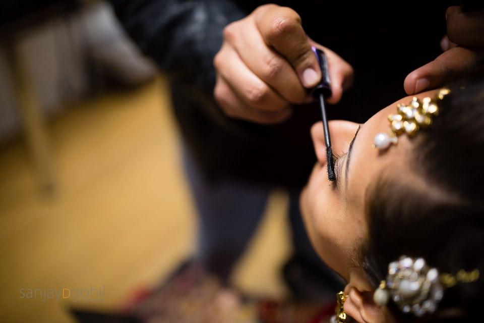 Close up of eyelash