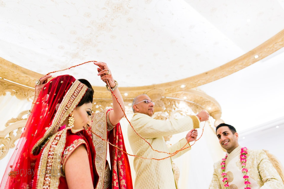 Hindu Gujarati wedding ceremony