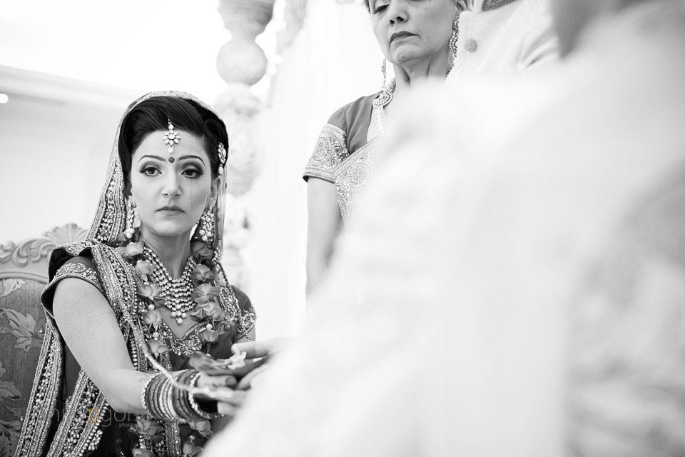 Asian Wedding Bride crying