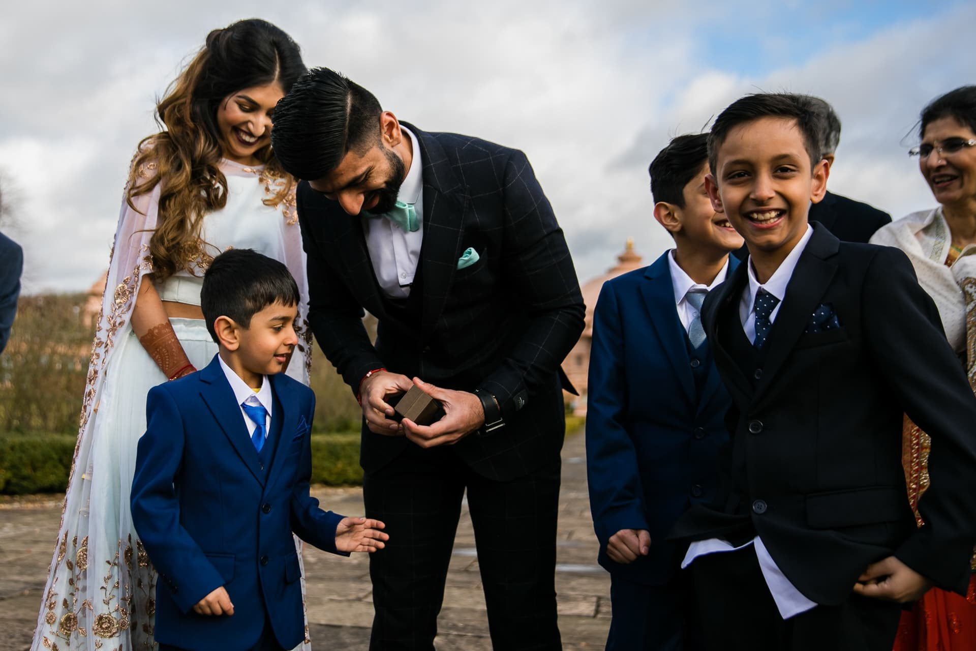Civil Ceremony at Oshwal centre Potters Bar, UK