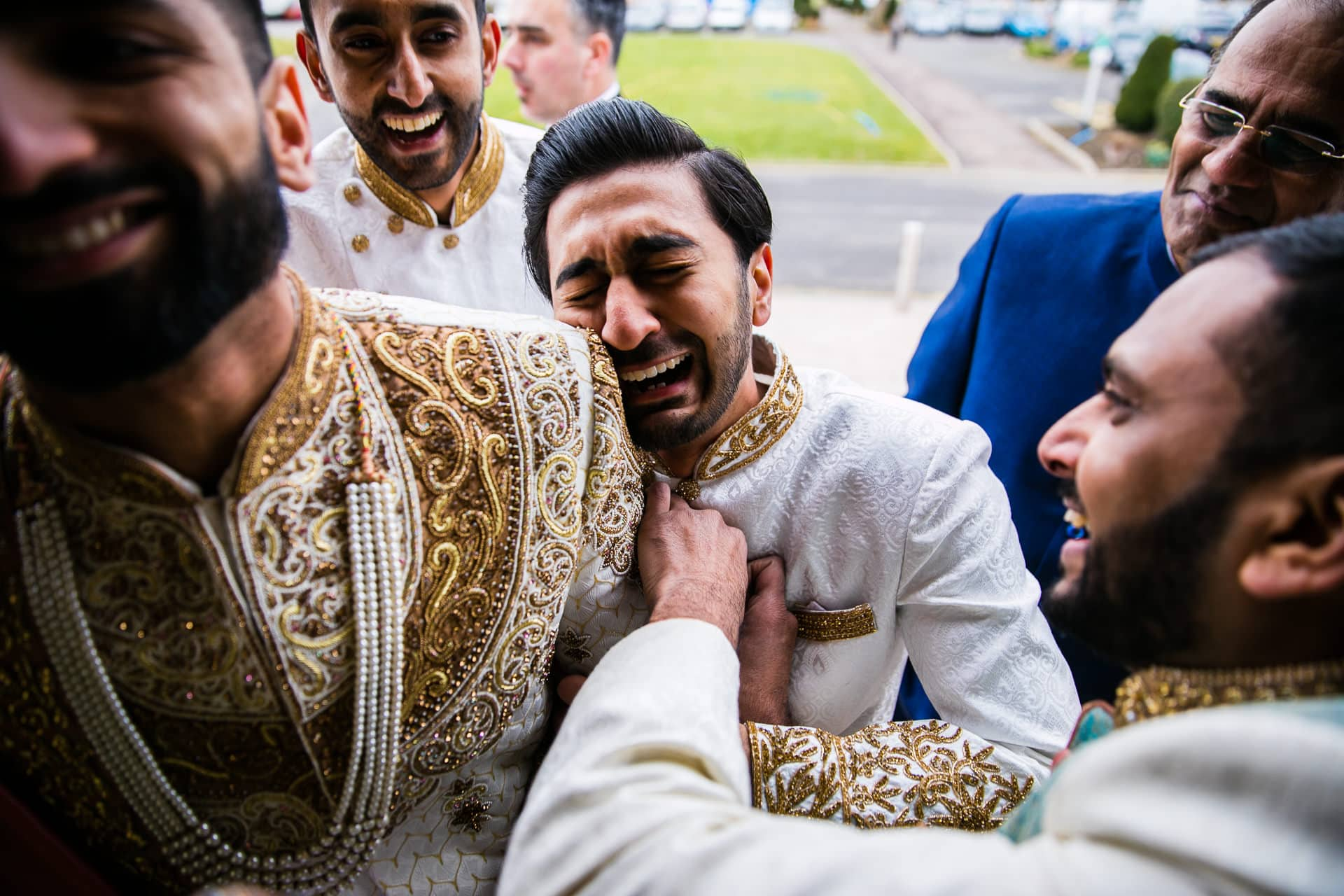 Asian wedding best men