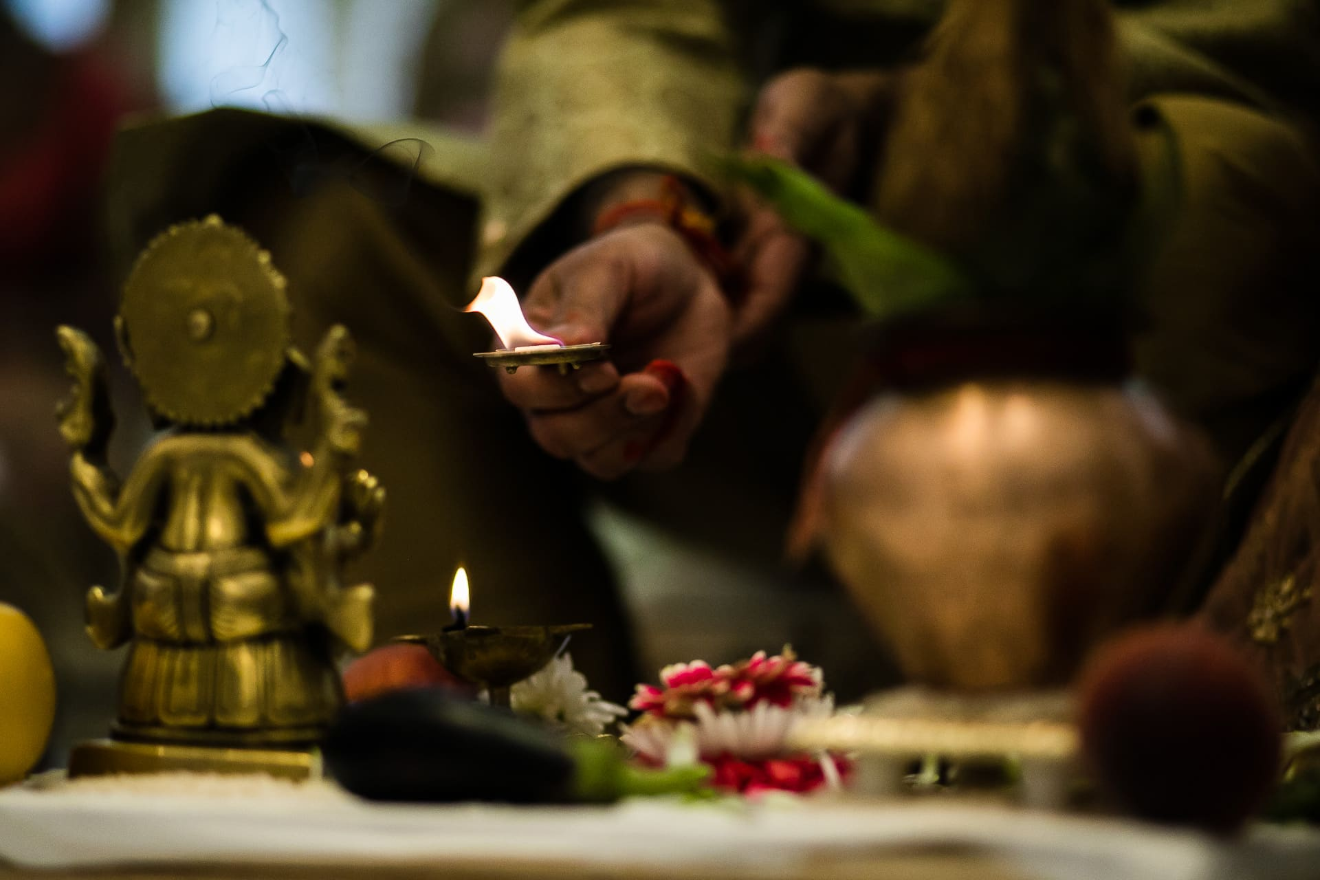 Ganesh Pooja ceremony