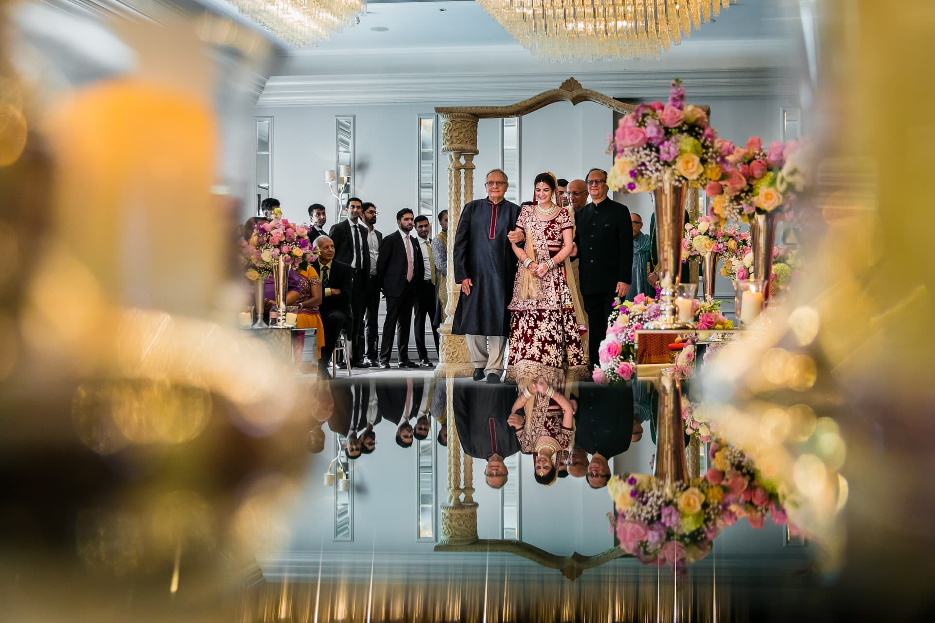 Seema and Kushal's Indian wedding at Sopwell House, St. Albans