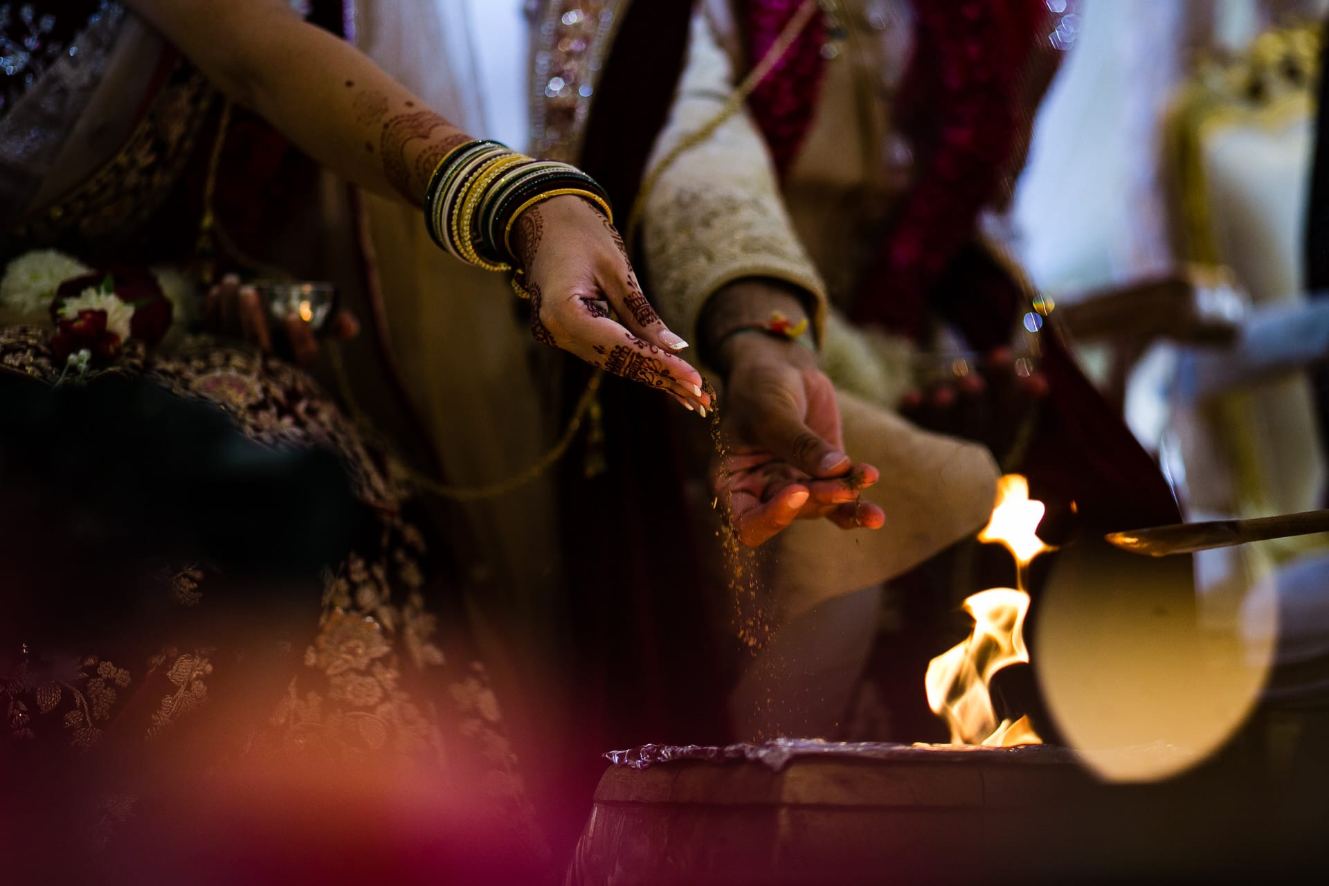 Indian wedding ceremony