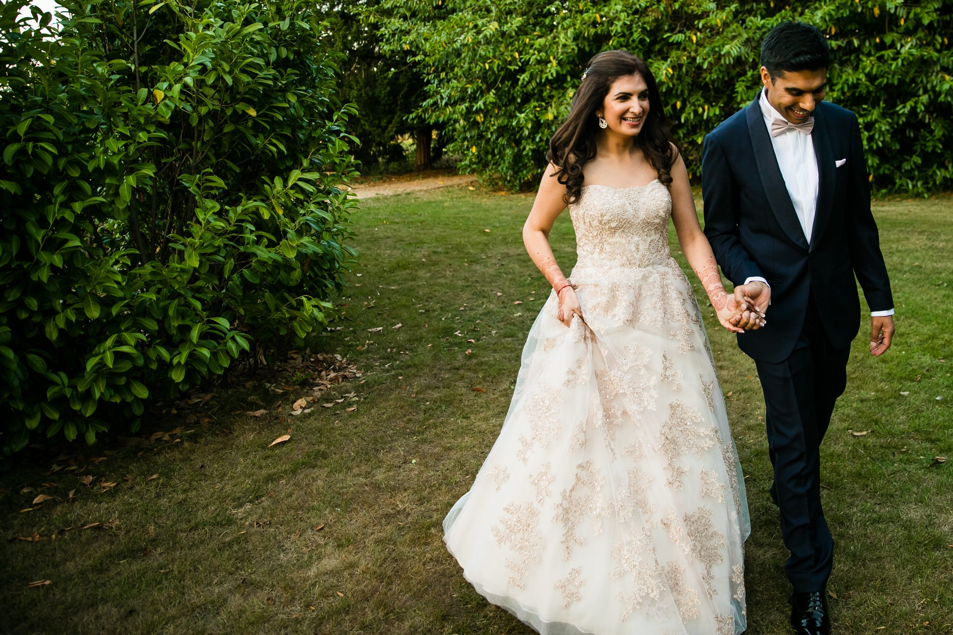 Indian Wedding Portrait at Sopwell House