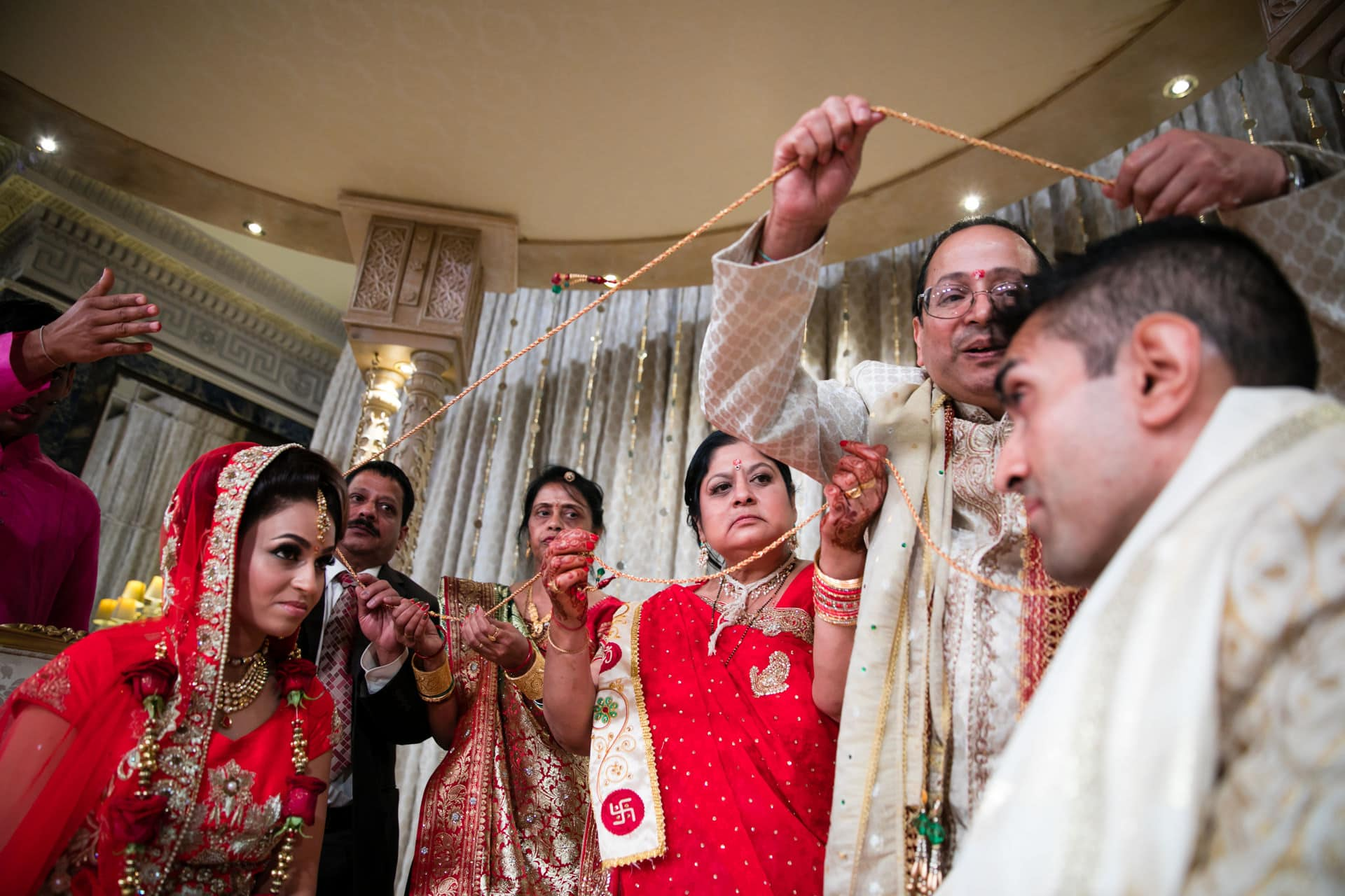 Gujarati wedding ceremony at the Dorchester hotel