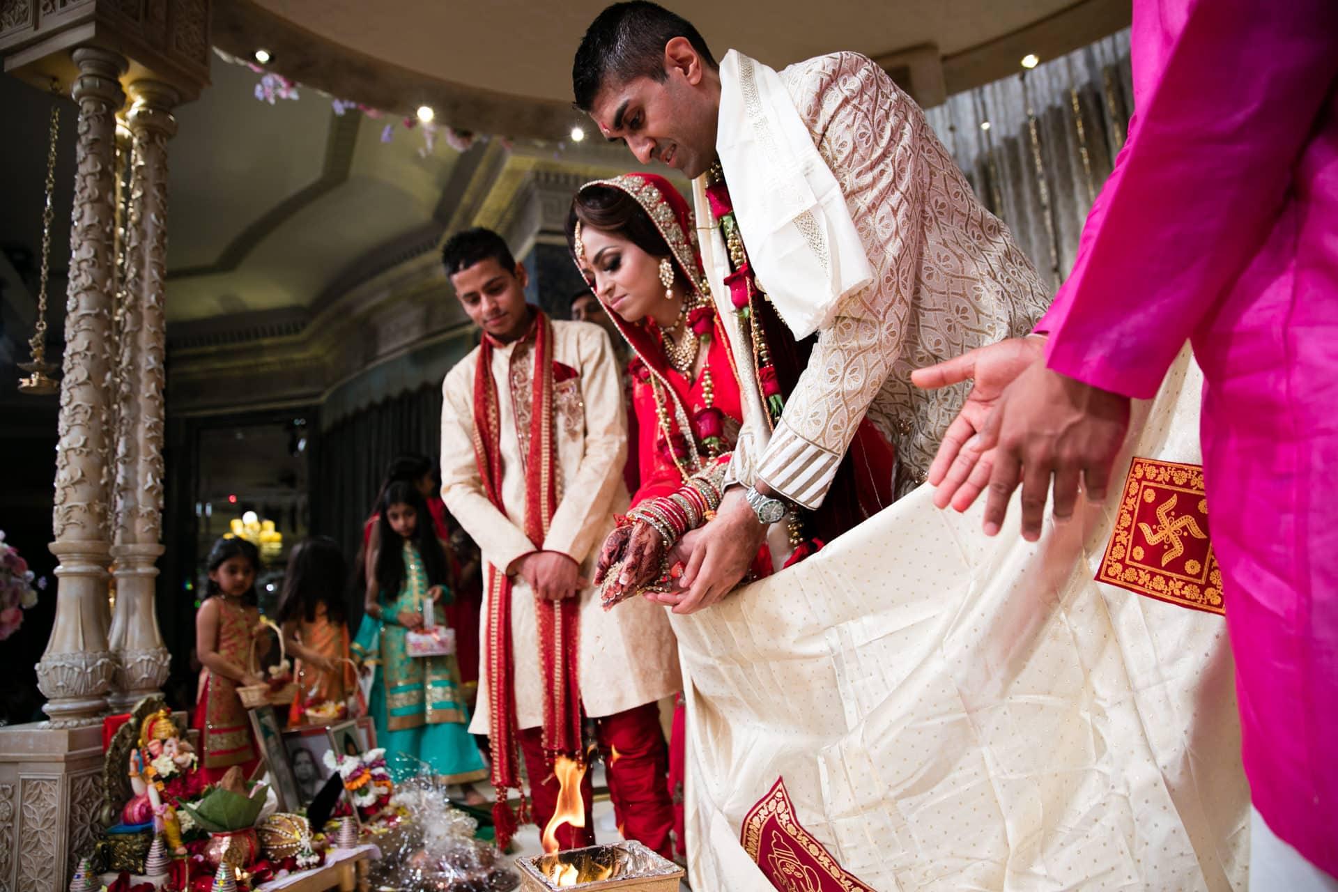 Hindu Wedding Phera ceremony