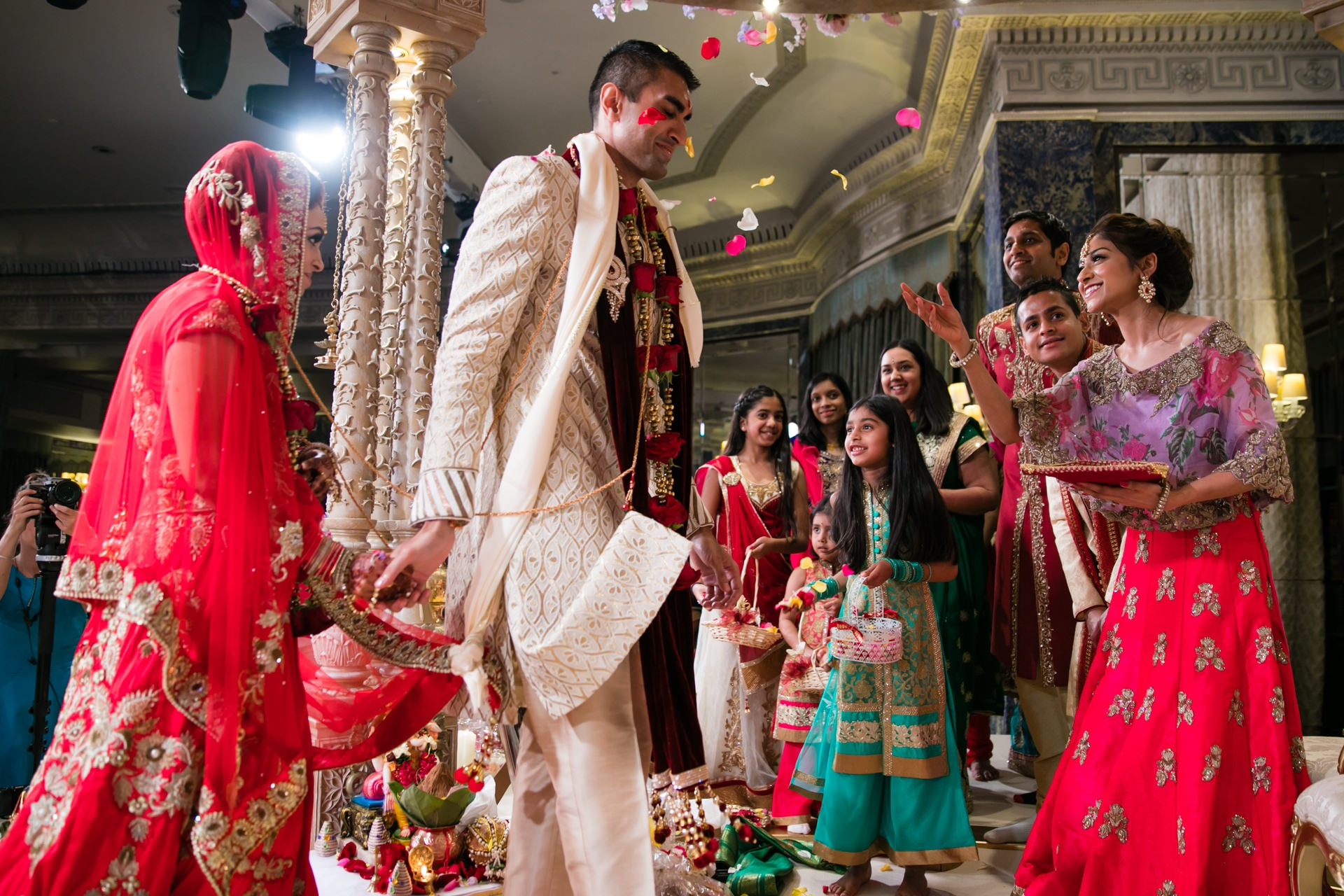 Hindu Wedding Phera ceremony