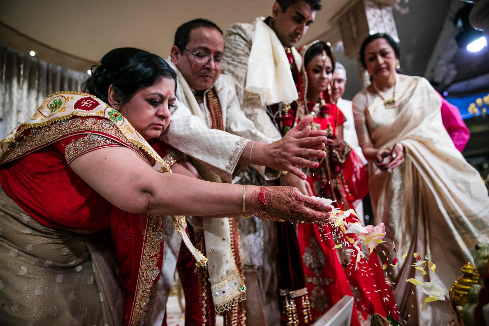 Final wedding ceremony