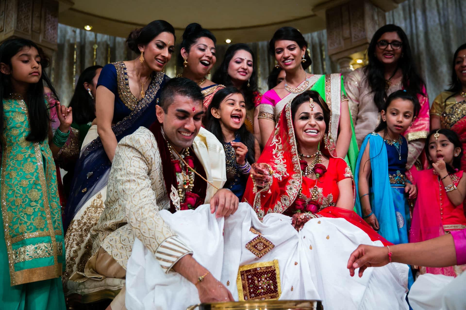 Koda Kodi games after Hindu Wedding
