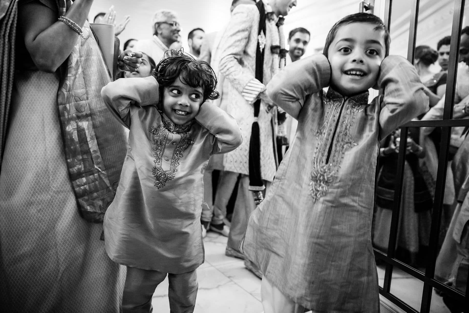Jaan arrival at Hindu Wedding in London