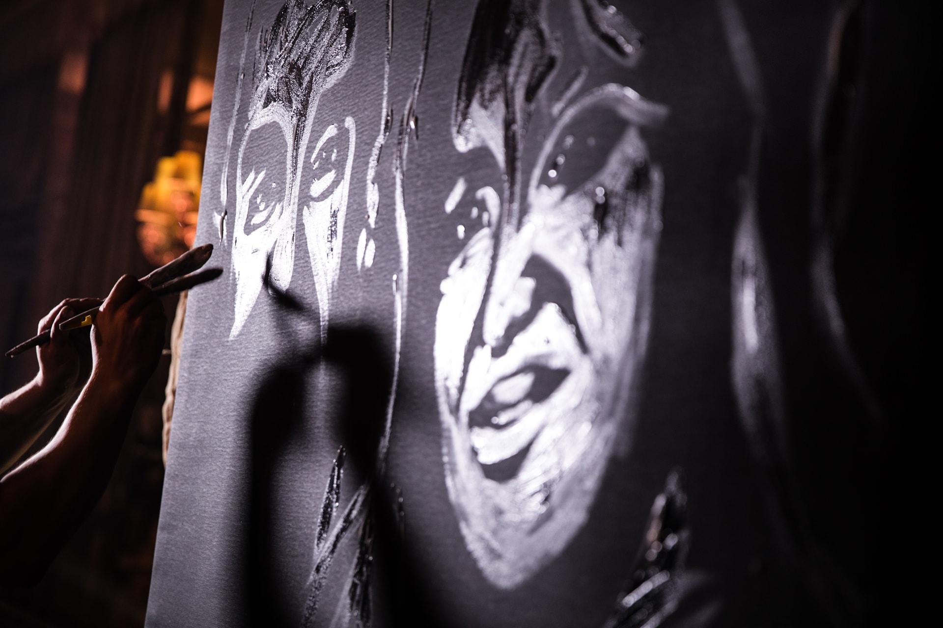 Dave Sharpe Glitter artist