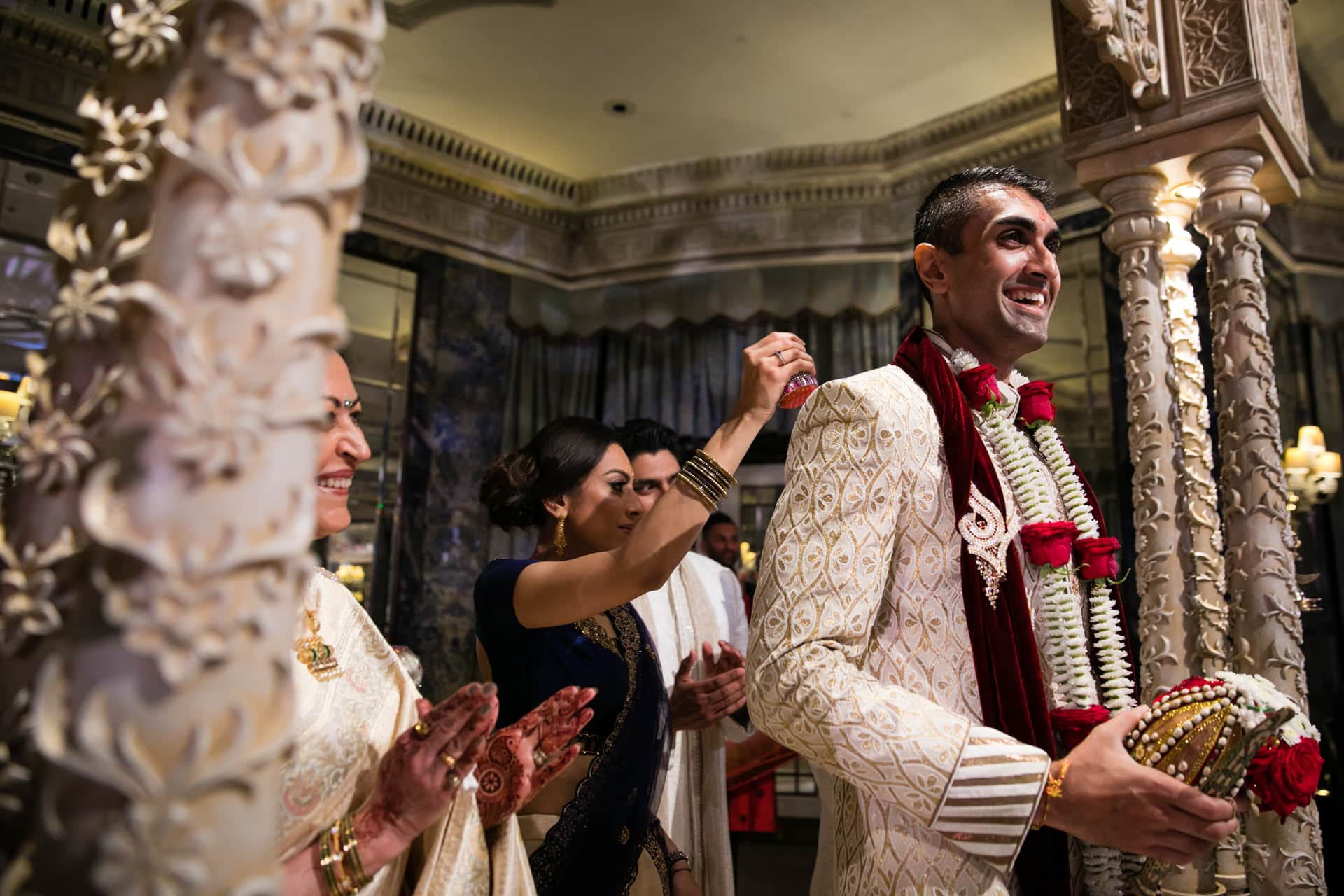 Hindu Wedding Groom's entrance ceremony