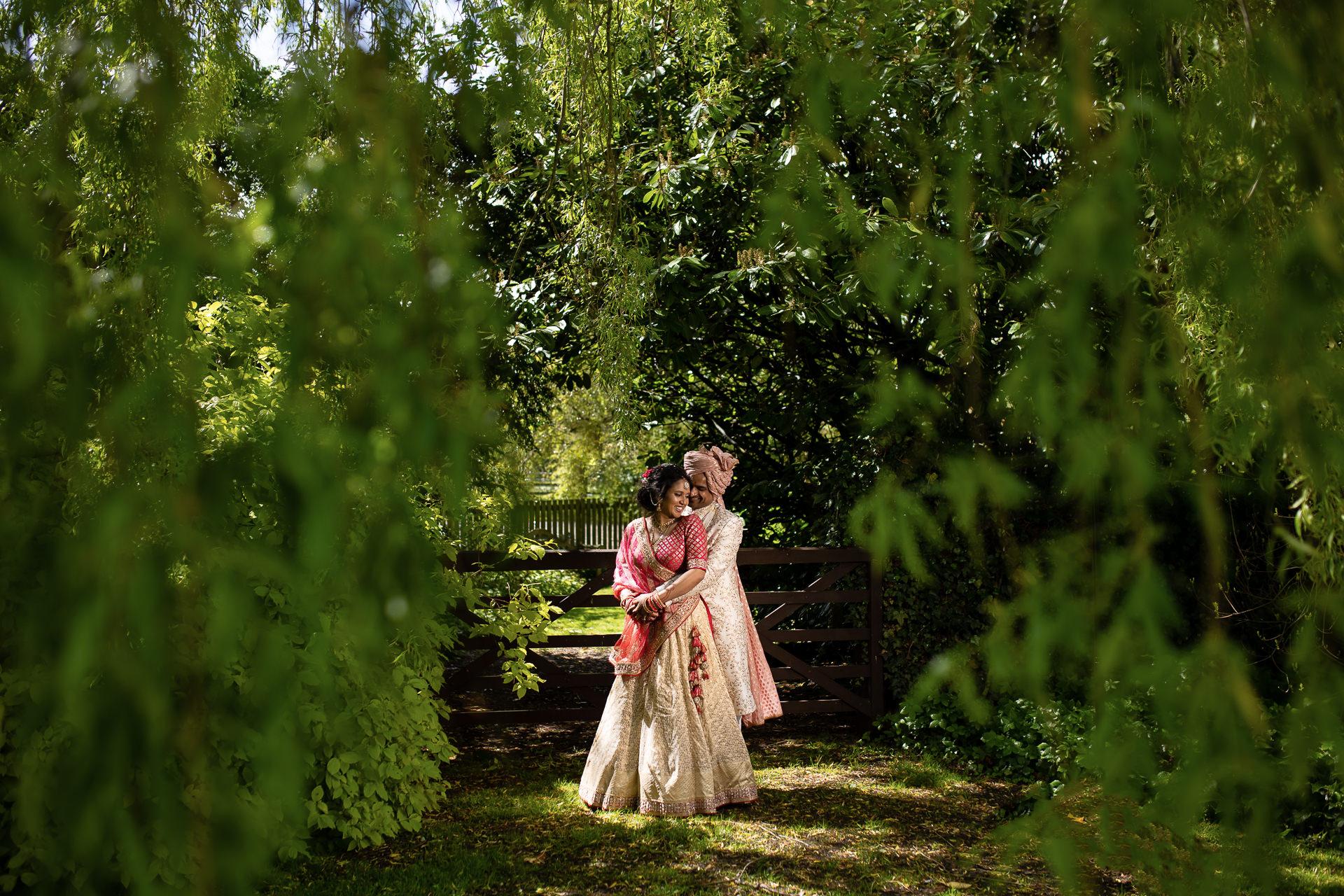 Tulsi & Roheet's Hindu wedding at The Priory Barn, Hitchin