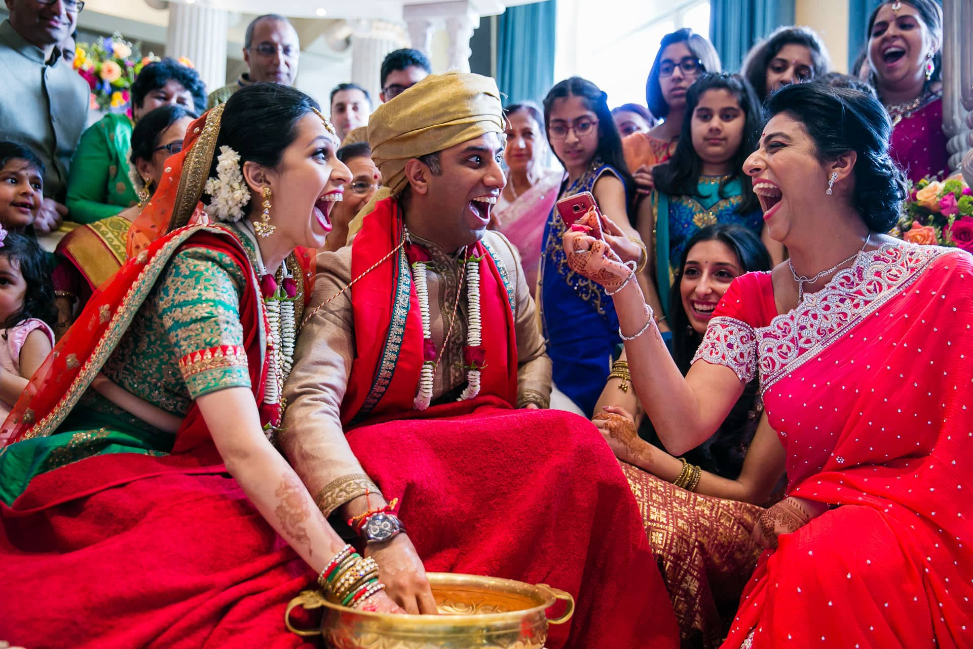 Koda Kodi game after Hindu Wedding