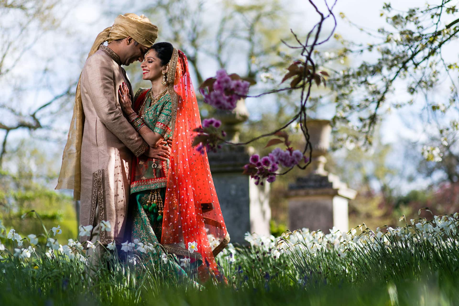 Dipti and Neel's Hindu Wedding at Woburn Abbey Sculpture Gallery
