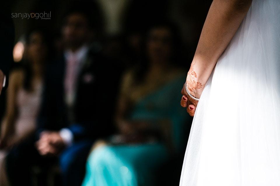 Bride wedding jewellery