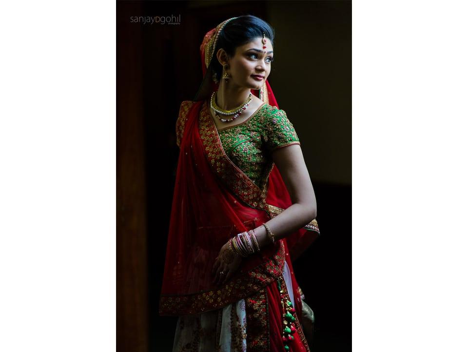 Asian Wedding Bridal portrait