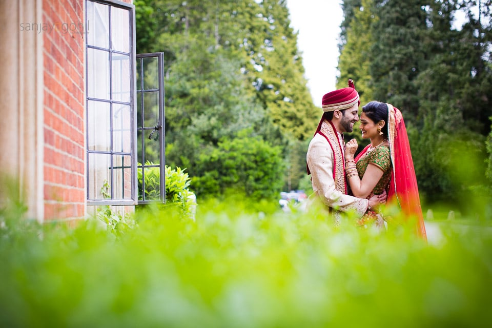 Hindu wedding portrait at Saville Court Windsdor
