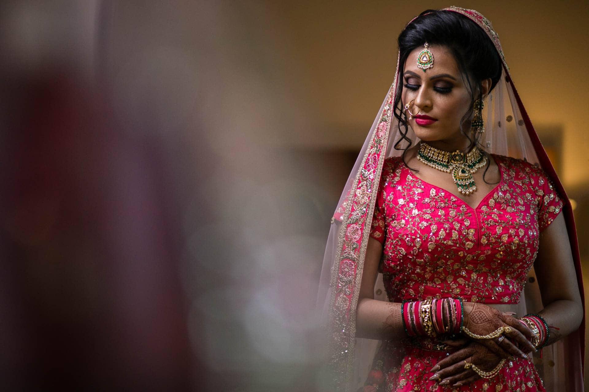 Asian Bride portrait
