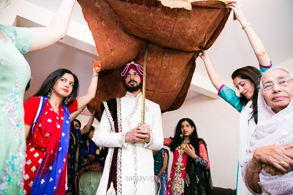Sikh wedding groom