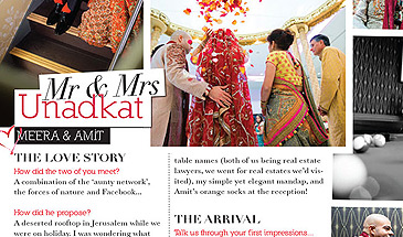 Asian Bride Hindu Wedding magazine feature