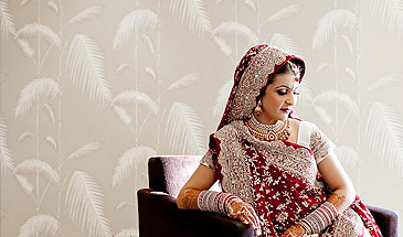 Arti & Vipin's Hindu Wedding & Reception Party at Epsom Downs Race Course