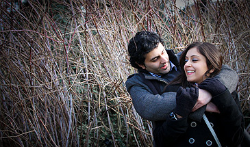 Kew Gardens engagement photoshoot