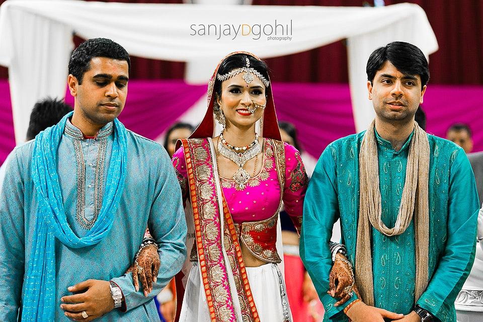 Asian wedding bride