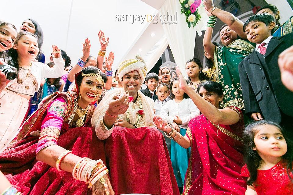 Kida Kodi game during Gujarati wedding ceremony