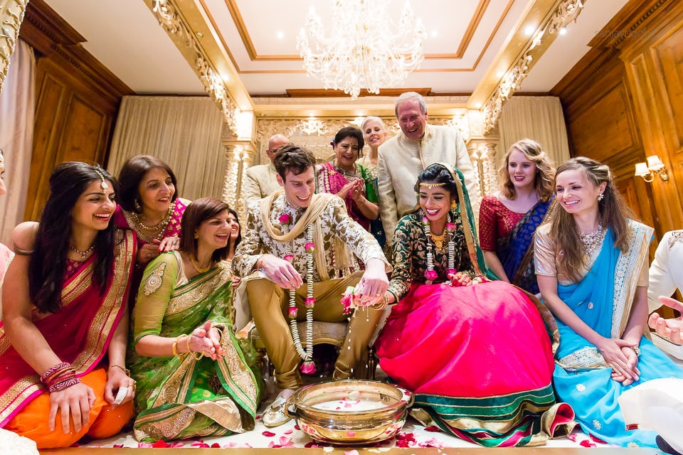 Koda Kodi game after Hindu Gujarati wedding