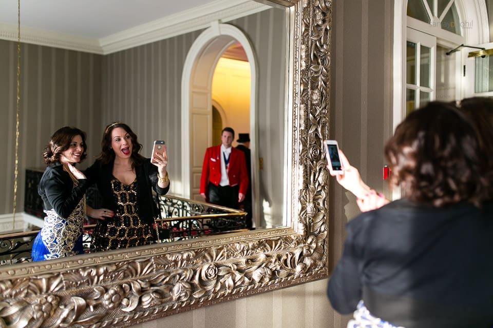 Selfie in the mirror