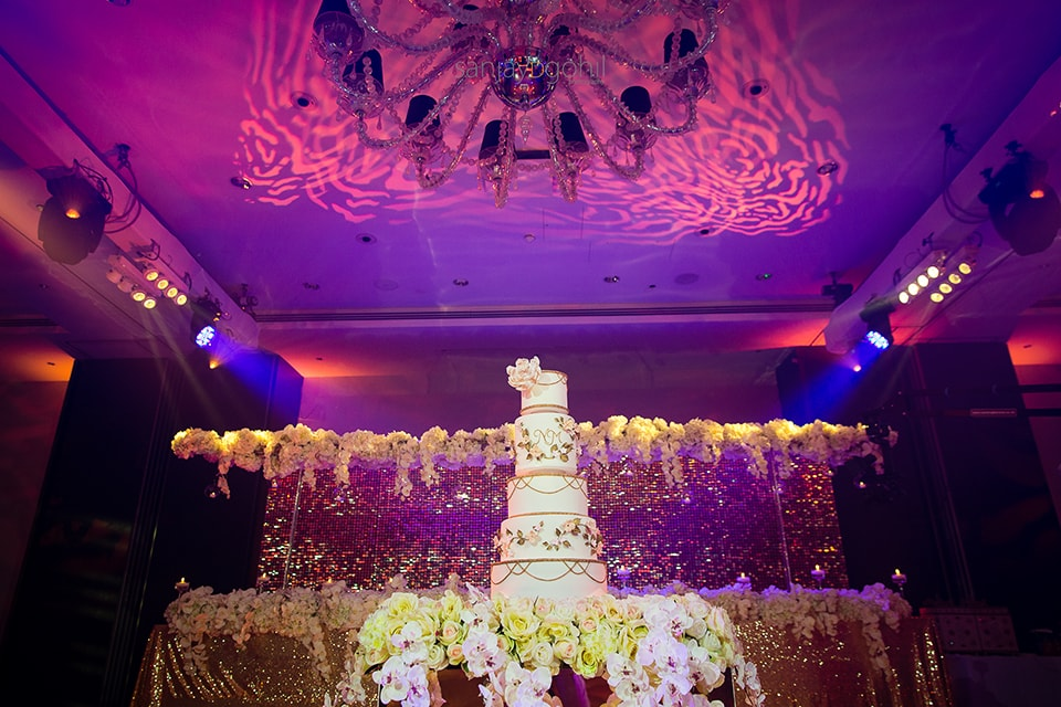 Asian wedding cake by Maya Dalia Cakes