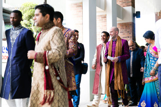 Groom arrival ceremony