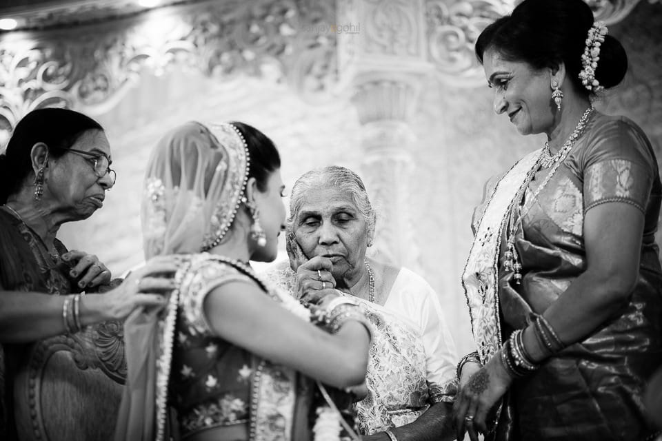 Bride and her grand mother