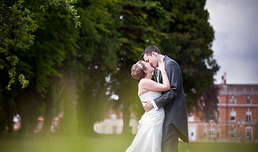 Kim & Jason's wedding at Oakley Manor in Hampshire