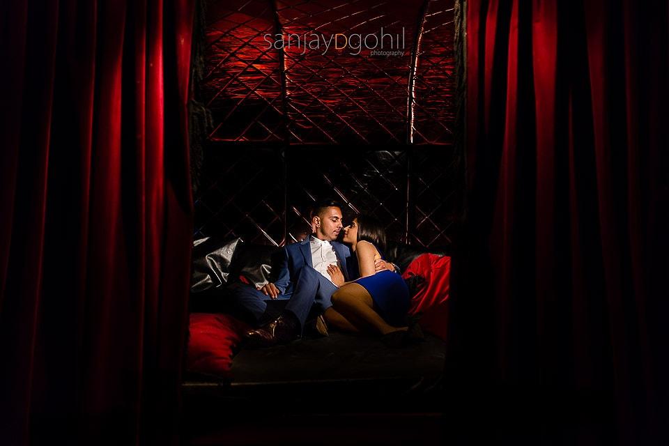 Vandita and Darshan's London Engagement Photoshoot