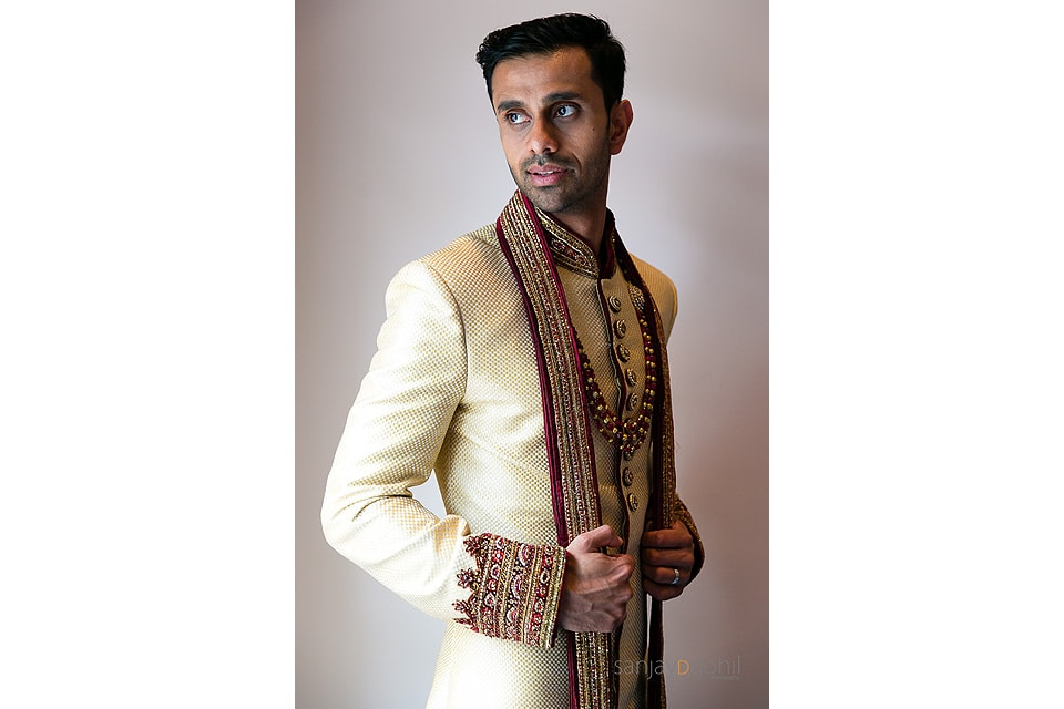 Hindu Wedding Groom Portrait