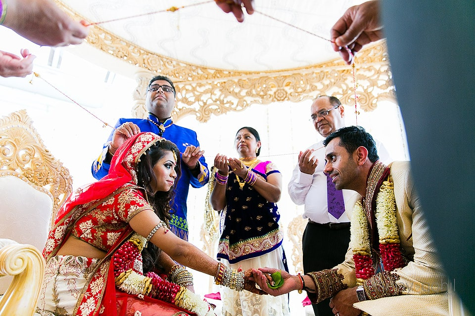 Asian Hindu Wedding Ceramony