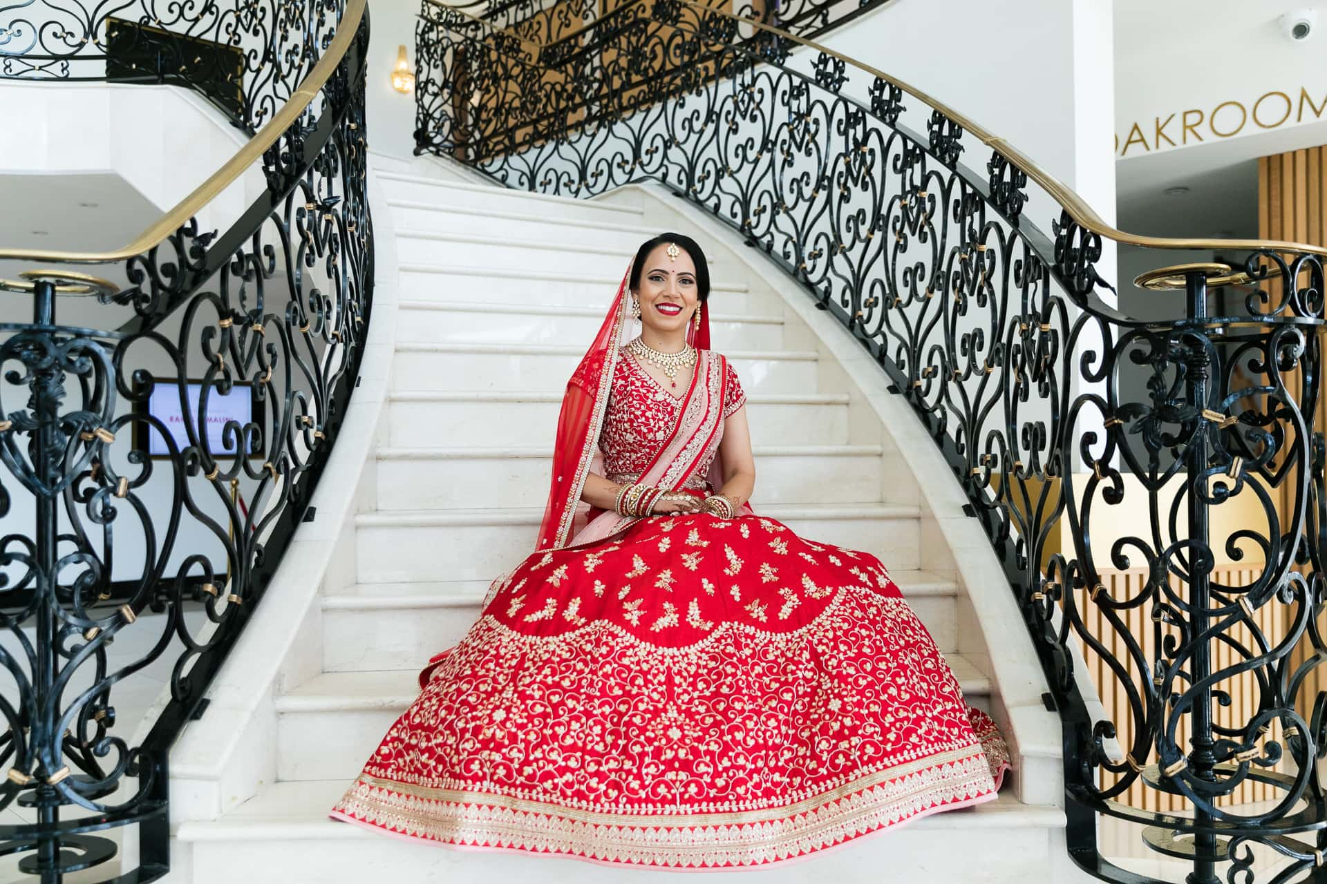 Bridal portrait at Meridian Grand
