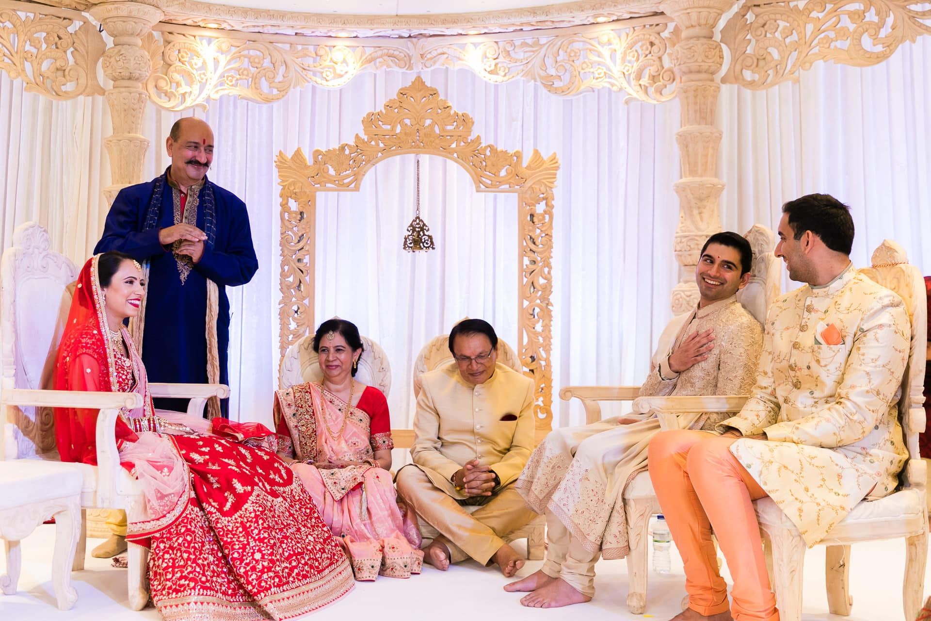 Gujarati Hindu wedding ceremony