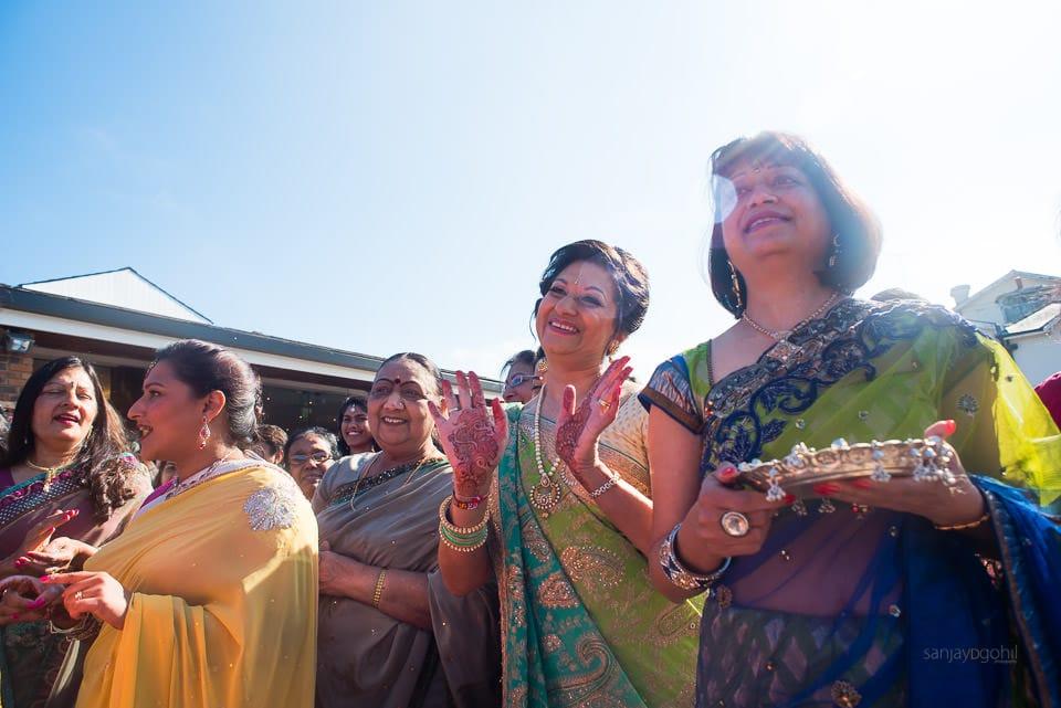 Asian wedding at Oshwal Centre
