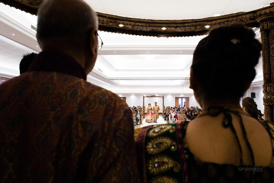 Arrival of the Hindu Wedding Bride